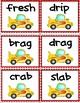 Race Car Word Game  (CCVC and CCVCC)