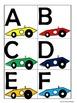 Race Car Word Wall Tags