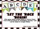 Race Car themed EDITABLE bulletin board banner