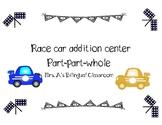 Race Cars Addition (part-part-whole)