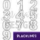 Race Cars Clip Art - Race Cars Numbers {jen hart Clip Art}