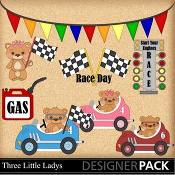 Race Day Bears