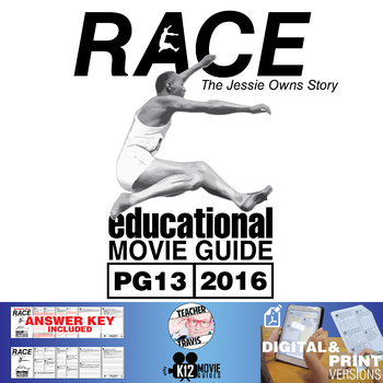Race (Jessie Owens Story) Movie Guide | Questions | Worksheet (PG13 - 2016)