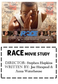 Race Movie Activity Booklet