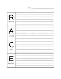 Race Strategy Response Sheets