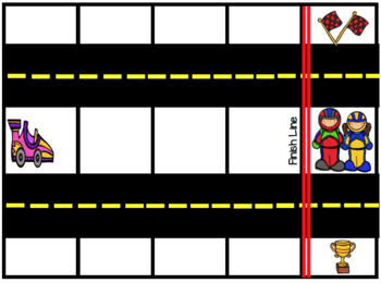 Race That Car! A Fun Counting Game Using Race Cars and a Race Track