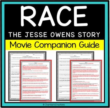Race- The Jesse Owens Story- Movie Guide Questions