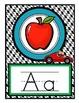 Race Theme - Alphabet Posters and Alphabet Chart