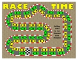 Race Time - A 2-Player Game to Practice Telling Time to the Nearest 5 Minutes