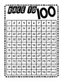 Race To 100 Gameboard