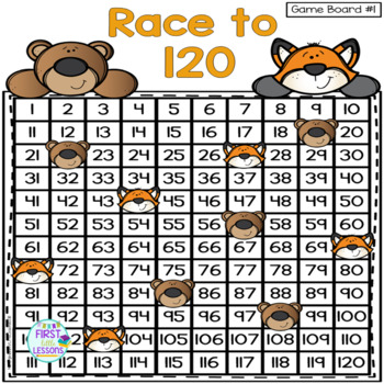 Race To 120: A Counting Game to 120 Including +10/-10