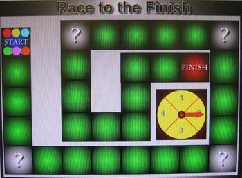 Race To The Finish Board