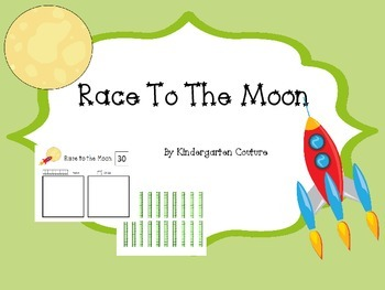 Race To The Moon - place value