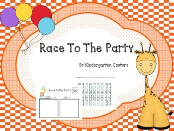 Race To The Party - place value