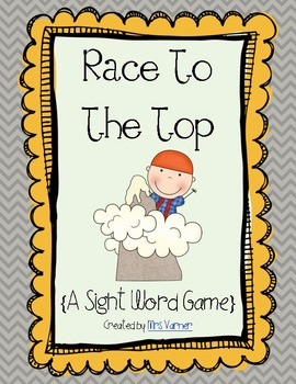 Race To The Top! {Pre-Primer Sight Words}