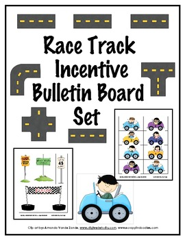 Race Track Incentive Bulletin Board Set