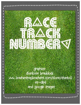 Race Track Tracing Number 0-10 Mats