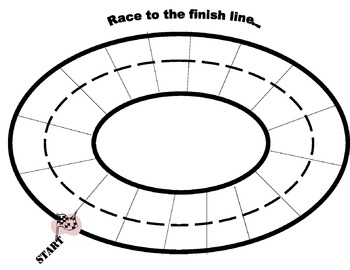Race Track for Racing Race cars activity
