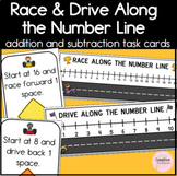Race and Drive Along the Number Line Addition and Subtract