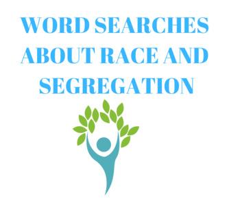 Race and Segregation Word Search BUNDLE