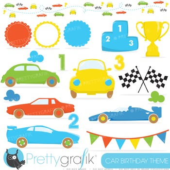 Race car clipart commercial use, vector graphics, digital clip art - CL637