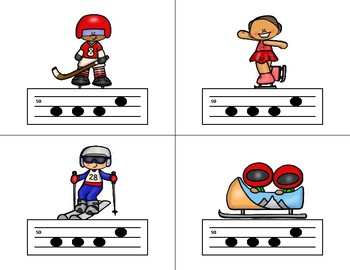 Race for the GOLD! Winter MELODIC Relay Game - So Mi