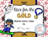 Race for the GOLD! Winter MELODIC Relay Game - Re (MRD)