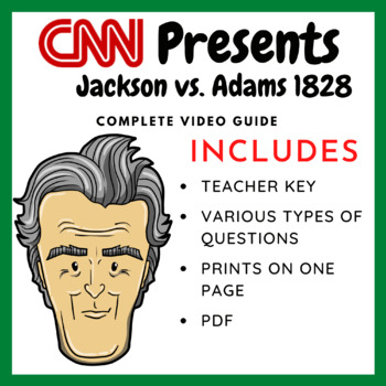 Race for the White House: Jackson vs. Adams 1828- Complete Video Guide