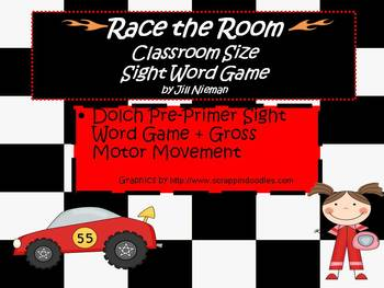 Sight Word Game-Classroom Size Pre-Primer