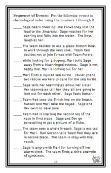 Race the Wild: Great Reef Games (Earhart) Novel Study / Comprehension (27 pages)