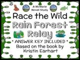 Race the Wild: Rain Forest Relay (Earhart) Novel Study / Comprehension  (28 pgs)