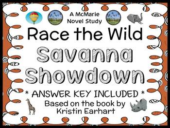 Race the Wild: Savanna Showdown (Earhart) Novel Study / Co
