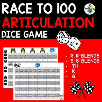 Race to 100: Articulation Game