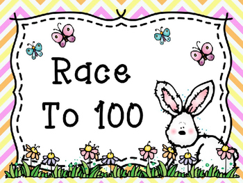 Race to 100 Base 10 Game