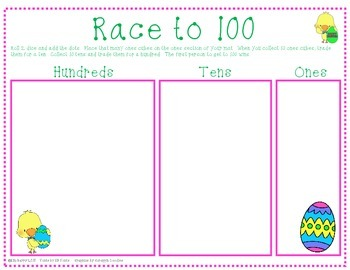 Race to 100 - Easter Edition