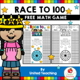 Race to 100 Free 100th Day Counting Game