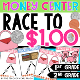 Race to $ 1.00 (Money Game)