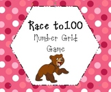 Race to 100 Number Grid Game