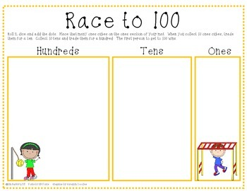 Race to 100 - Playground Kids Edition