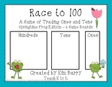 Race to 100 - Springtime Frog Edition