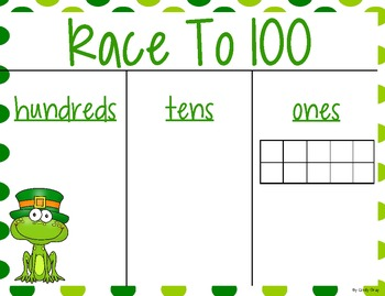 Race to 100 ~ St. Patrick's Day