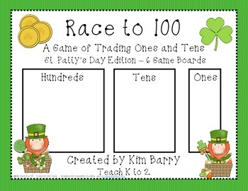 Race to 100 - St. Patty's Day Edition