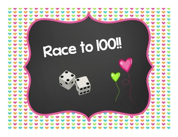 Race to 100 Valentine Style