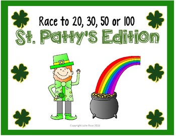 Race to 20, 30, 50 or 100 St. Patty's Edition