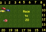 Race to 20--FlipChart Counting Game for Kindergarten Common Core Math