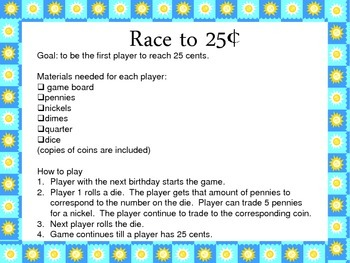 Race to 25