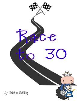 Race to 30 - Ten Frame