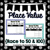 Place Value - Race to 50 & 100