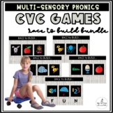 Race to Build: CVC Words! (Includes ALL 5 Volumes: Short A