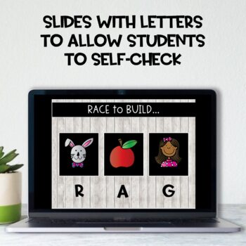 Race to Build: CVC Words!  Vol. 1: Short A